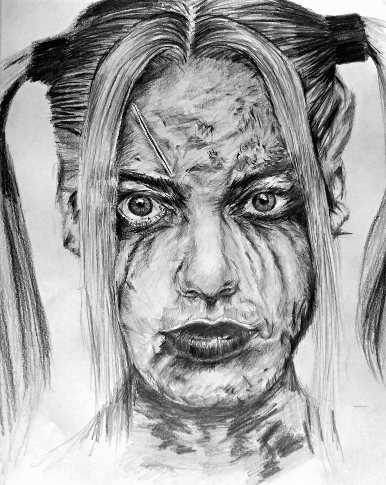 Margot Robbie by linshyhchyang